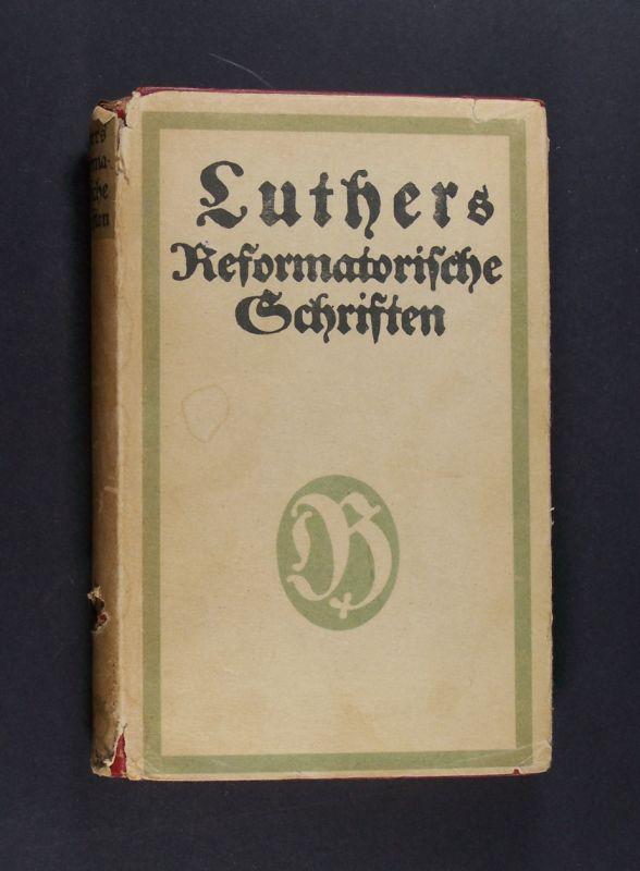 Schriften Luthers