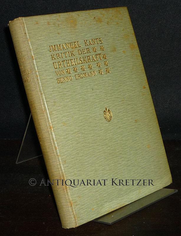 Immanuel Kant's Kritik der Urtheilskraft. Herausgegeben von: Kant, Immanuel (Verf.)