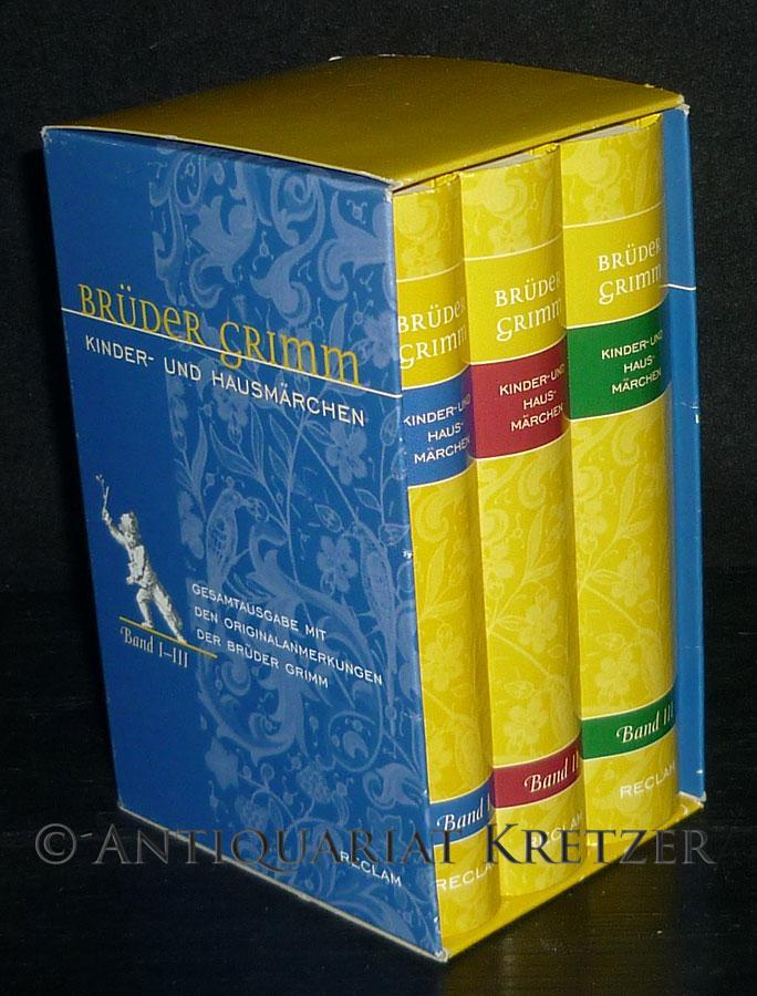Kinder- und Hausmärchen. Ausgabe letzter Hand mit: Brüder Grimm (Verf.)