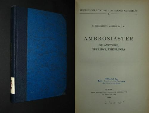 """Résultat de recherche d'images pour """"ambrosiaster"""""""