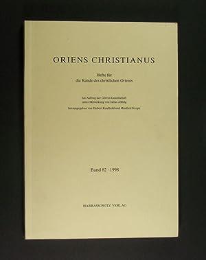 Oriens Christianus. Hefte für die Kunde des: Kaufhold, Hubert (Hrsg.)