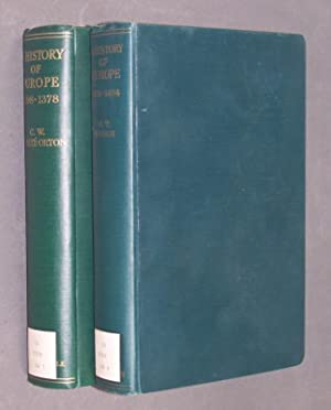 A History of Europe. 2 Bände/Volumes. -: Waugh, W. T.