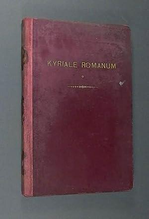 Kyriale seu Ordinarium Missae, Juxta editionem Vaticanam
