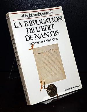 """Une foi, une loi, un roi?"""" Essai: Labrousse, Elisabeth:"""