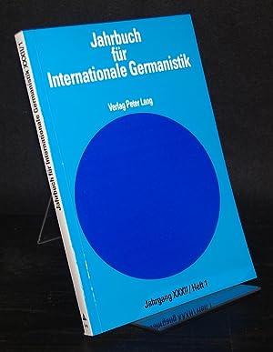 Jahrbuch für internationale Germanistik. In Verbindung mit der Internationalen Vereinigung f&...