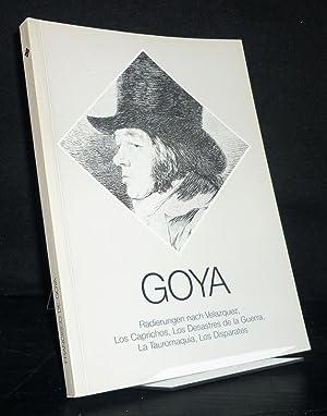 Francisco de Goya. Radierungen nach Velazquez, Los: Goya y Lucientes,