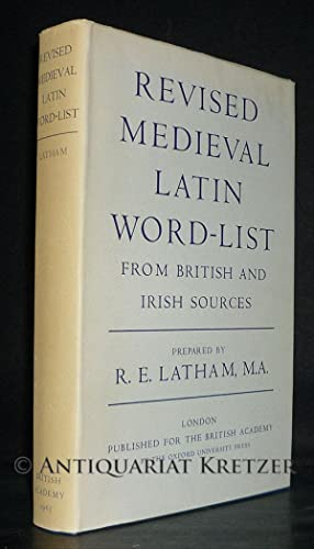 Revised Medieval Latin Word-List. From British and: Latham, R. E.