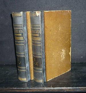 Griechisch-Deutsches Handwörterbuch. [2 Bände. - Von W.: Pape, W.: