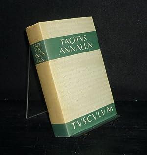 Annalen. Lateinisch und deutsch. [Von Tacitus]. Herausgegeben: Tacitus, Publius Cornelius