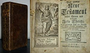 I] Das ganze Neuen Testament unsers Herren: Lobwasser, Ambrosius (Übers.):