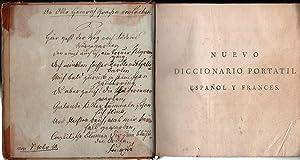 Nuevo Diccionario Portatil Espanol y Frances. Resumido: Gattel, C.M. (Claude