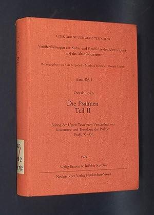 Die Psalmen, nur Teil 2. Beitrag der: Loretz, Oswald: