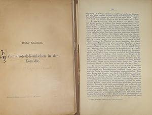 Geschichte des Grotesk-Komischen. (Bearbeitet von Friedrich W.: Floegel, Karl-Friedrich und
