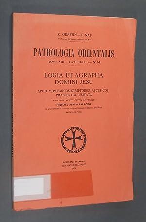 Logia et agrapha domini Jesu. Apud moslemicos: Palacios, Michael Asin