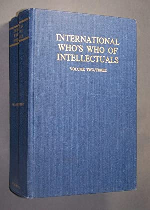 The international who's who of Intellectuals. Volume