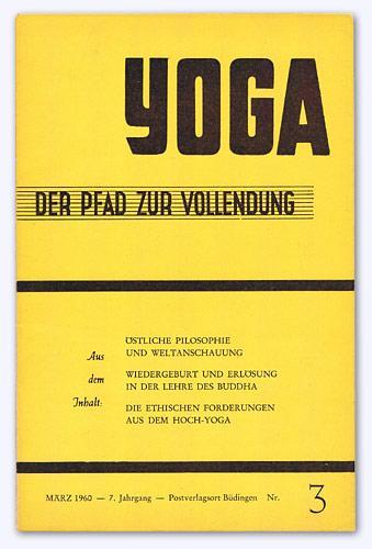 Yoga - Der Pfad zur Vollendung. 7.: Schwab, Heinrich (Hrsg.):