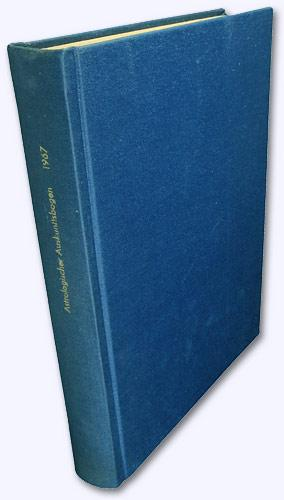 Astrologischer Auskunftsbogen. 17. Jhg. 1967, Nr. 187-198: Baumgartner, Hermi (Hrsg.):
