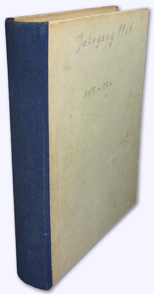 Astrologischer Auskunftsbogen. 11. Jhg. 1961 [kmpl.]. Zeitschrift: Baumgartner, Hans; Hrsg.]: