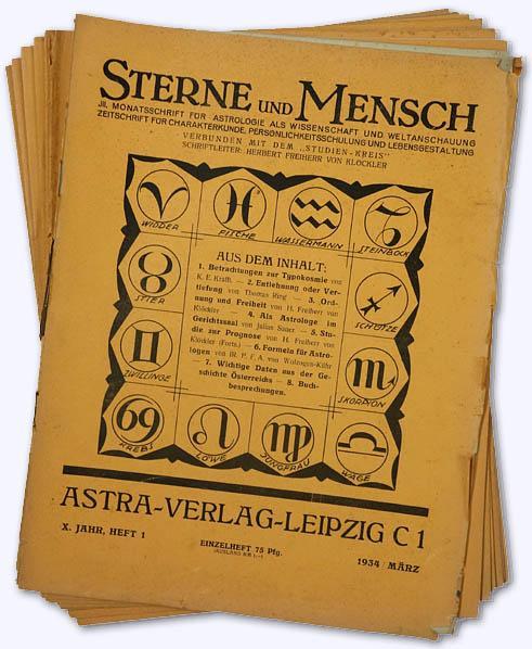 Sterne und Mensch. X. Jhg. 1934-35, Nr.: Klöckler, Herbert Frhr.