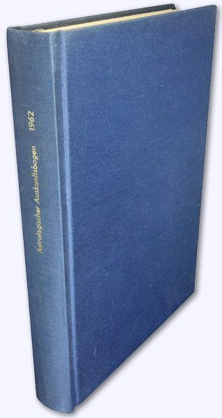 Astrologischer Auskunftsbogen. 12. Jhg. 1962, Nr. 127-136: Baumgartner, Hans (Hrsg.):