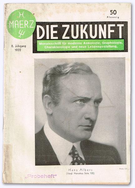 Die Zukunft. 8. Jhg. 1932, Nr. 3: Schneider, Rudolf (Schrftltg.):