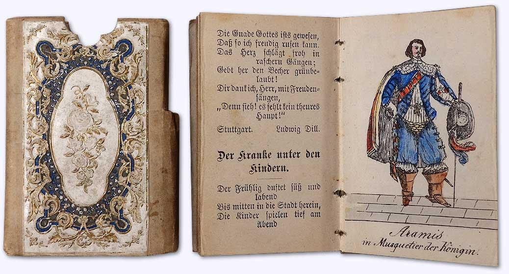 Taschen-Kalender für das Jahr 1873. Kompendiöser Sackkalender
