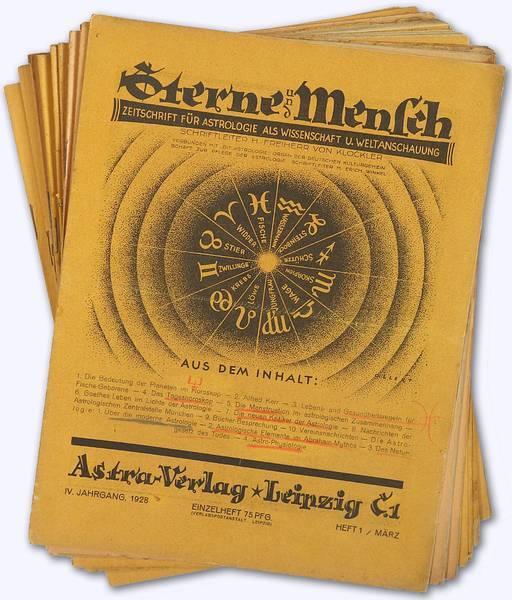 Sterne und Mensch. IV. Jhg. 1928-29, Heft: Klöckler, H[erbert] Freiherr