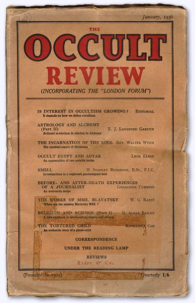 Occult Review, Used - AbeBooks