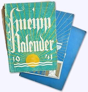 Kneipp-Kalender. 49. Jhg. 1939, 50. Jhg. 1940: Kneipp, Sebastian (Begründer):