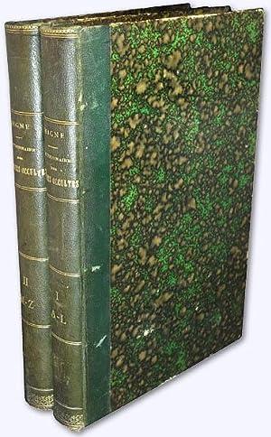 Dictionnaire des Sciences Occultes. Tome Premier &: Collin de Plancy,