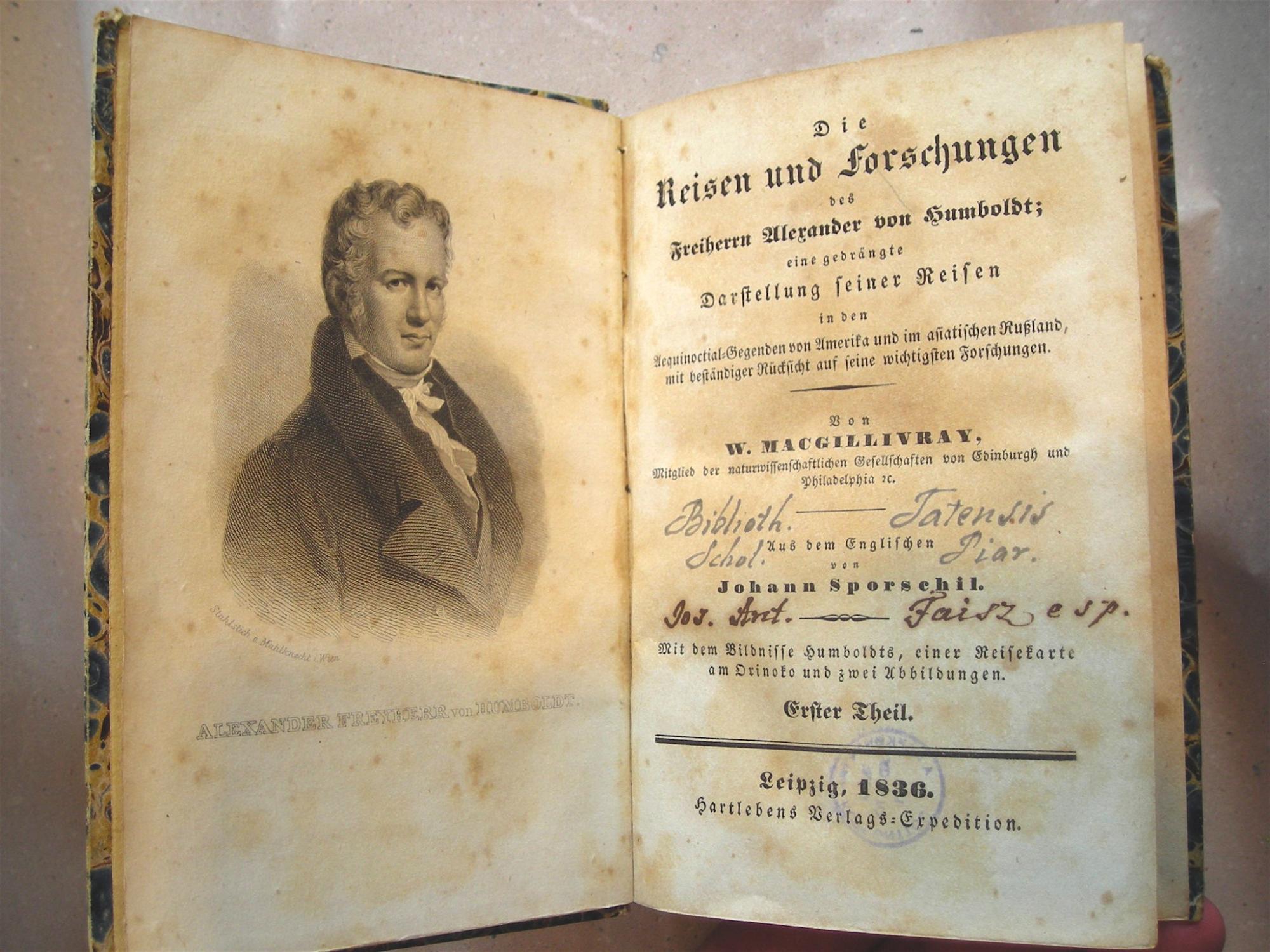 Alexander Von Humboldt Reisen
