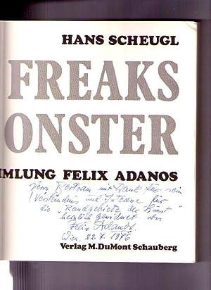 Show Freaks & Monster. Sammlung Felix Adanos.: Scheugl, Hans;