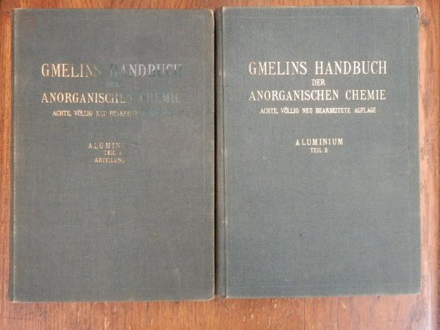 Gmelins Handbuch der anorganischen Chemie -- Aluminium: J.F. Gmelin ,