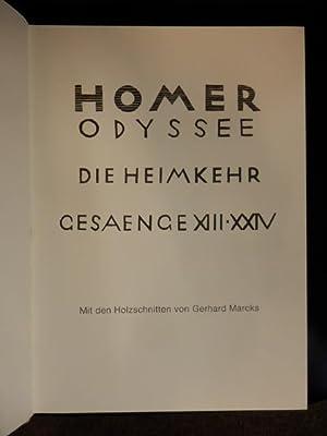 Homer Odyssee Die Heimkehr Gesaenge XIII -: Homer, Gerhard Marcks,