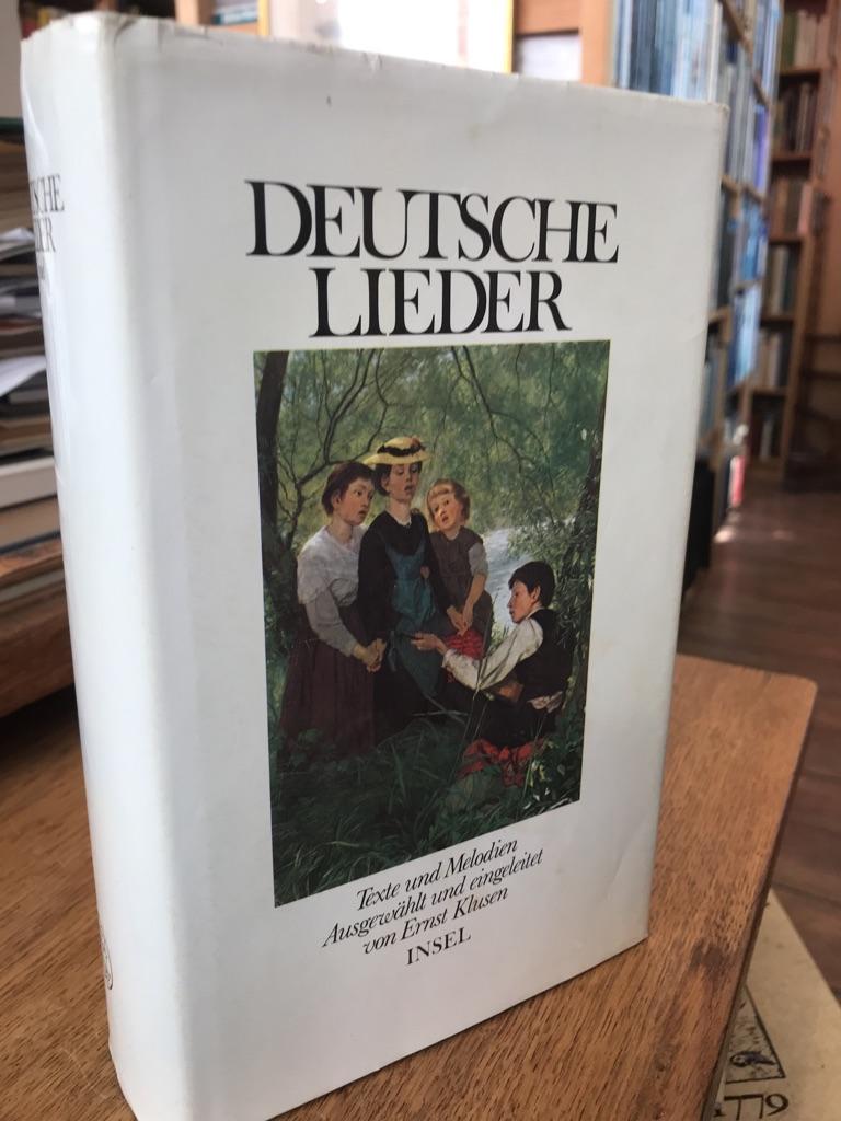Deutsche Liedertexte