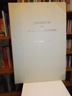 Jahrbuch der Original-Graphik. Vierter [IV.] Jahrgang. Ausgabe: Singer, Hans Wolfgang