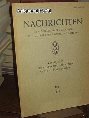 NOAG 120 - 1976 Nachrichten der Gesellschaft: Benl, Oskar, Mau-Tsai