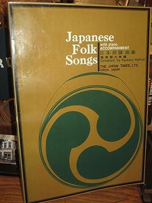 Japanese Folk Songs with Piano Accompaniment. Piano: Hattori, Ryutaro: