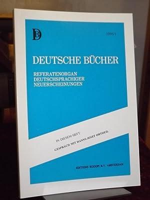 Deutsche Bücher. XXV/1995/1. Gespräch mit Hanns-Josef Ortheil.: van Ingen, Ferdinand,