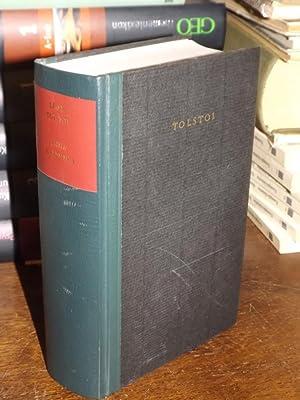 Anna Karenina. Roman. Mit einem Nachwort von: Tolstoi (Tolstoj), Leo