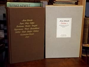Dialoge 2. Der Bogen des Odysseus. Abu: Schmidt, Arno: