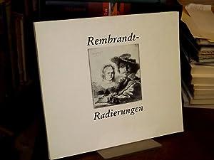 Rembrandt-Radierungen. [Katalog zur Ausstellung] 25. April bis: Harms-Lückerath, Martina, Klaus
