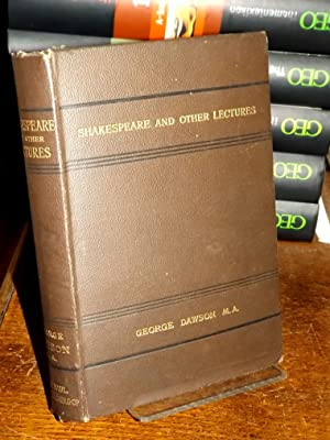 Shakespeare and other Lectures. Edited by George St. Clair.