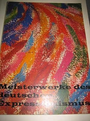 Meisterwerke des deutschen Expressionismus. E. L. Kirchner,
