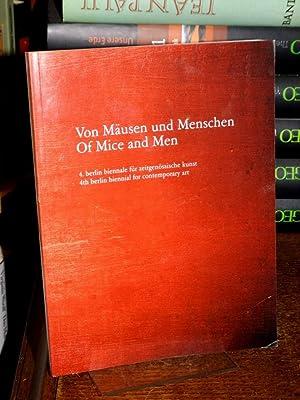 Von Mäusen und Menschen. Of mice and: Cattelan, Maurizio, Massimiliano
