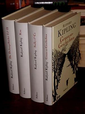 Werke. 4 Bände. Band I: Die Dschungelbücher: Kipling, Rudyard: