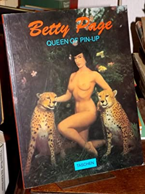 Betty Page. Queen of pin-up. Text: Harald Hellmann und Burkhard Riemschneider.