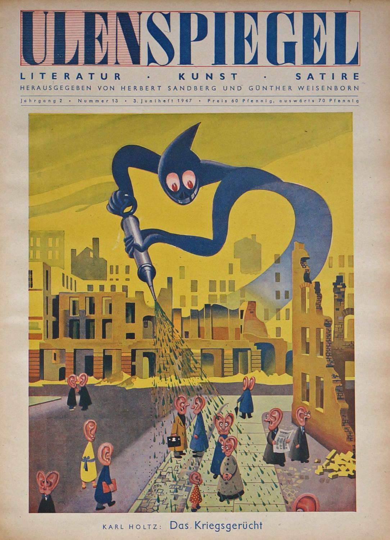 Literatur, Kunst, Satire ([bzw. ab 1950 mit: ULENSPIEGEL.