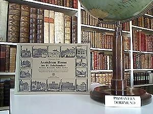 Ansichten Roms im 18. Jahrhundert. Kirchen, Konvente,: Vasi, Giuseppe: