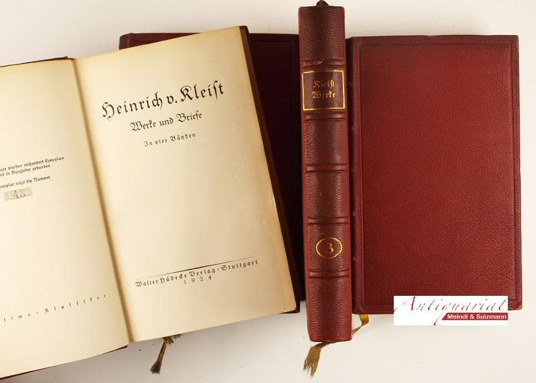 Lessing Werke Und Briefe In 12 Bänden : Werke und briefe vier von kleist zvab